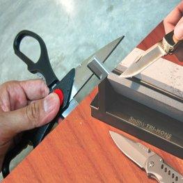 Scissor sharpening